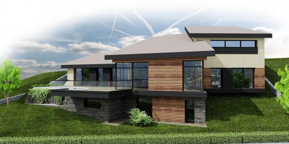 Chcem Projekt Dom Vo Svahu